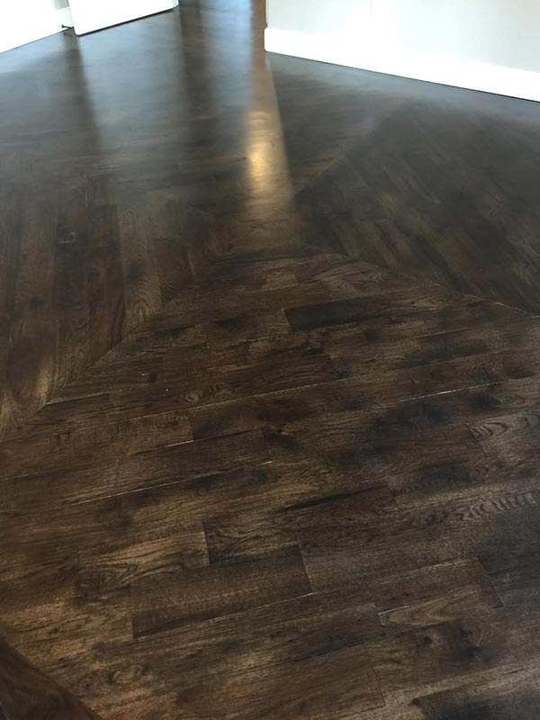 Completed Hardwood Flooring Project By Bert Henry Carpet Tile In Tulsa