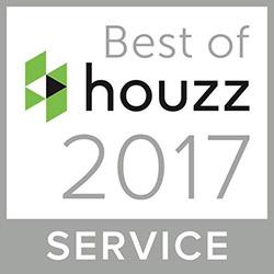 Bert Henry receives Houzz Best of Service Award for 2017